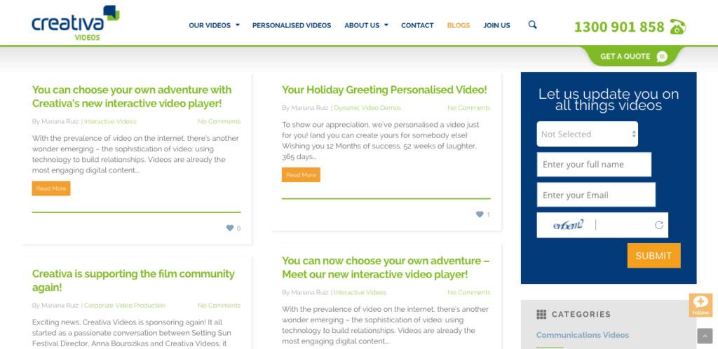 Creativa Videos-Marketing blogs