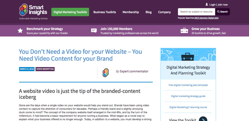 Smart Insight Video Marketing Blog