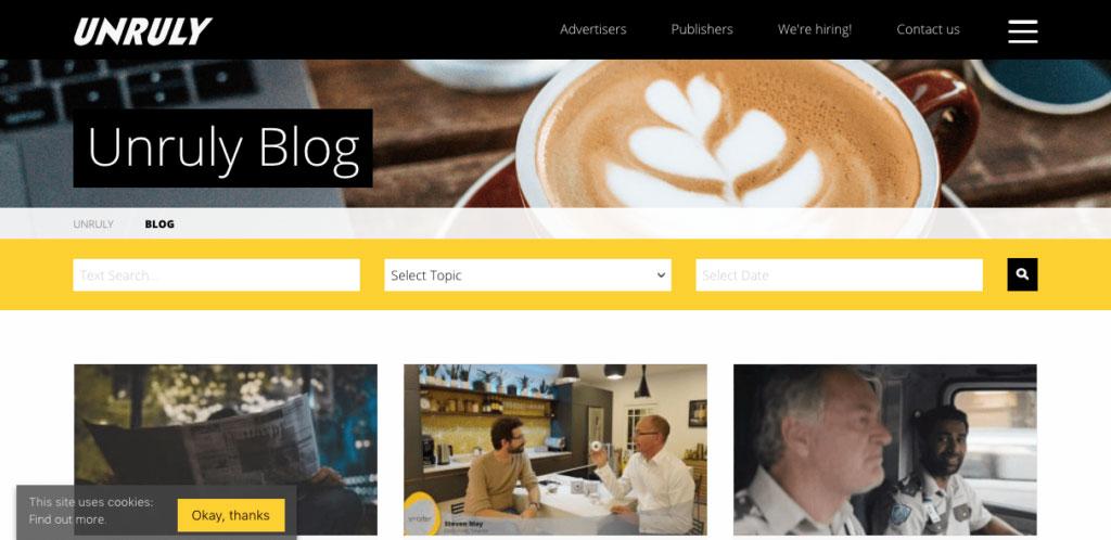 Unruly Media Blog