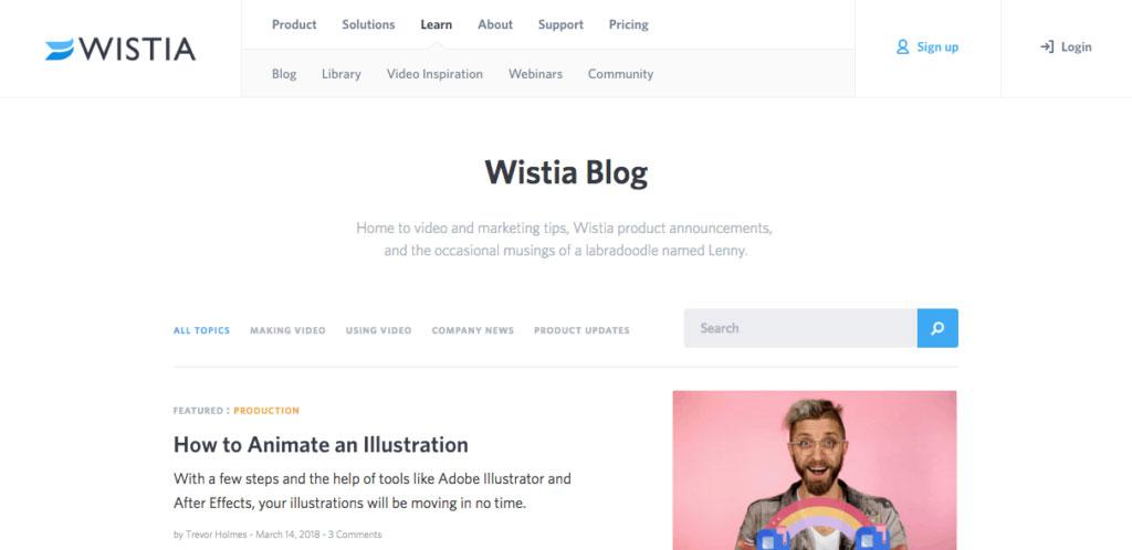 Wistia Blog