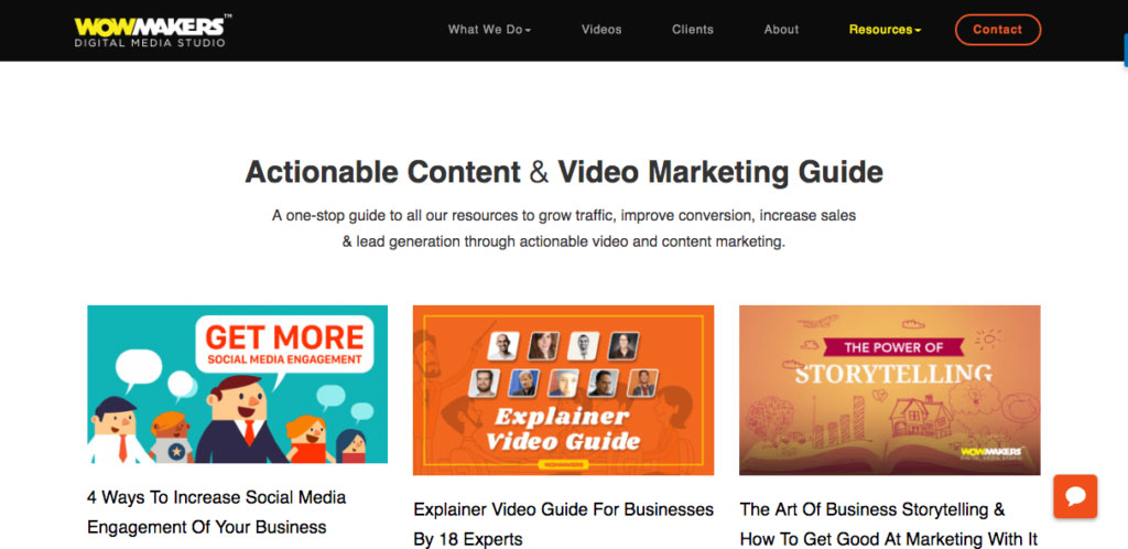 Wowmakers-Content and Video Marketing Blog