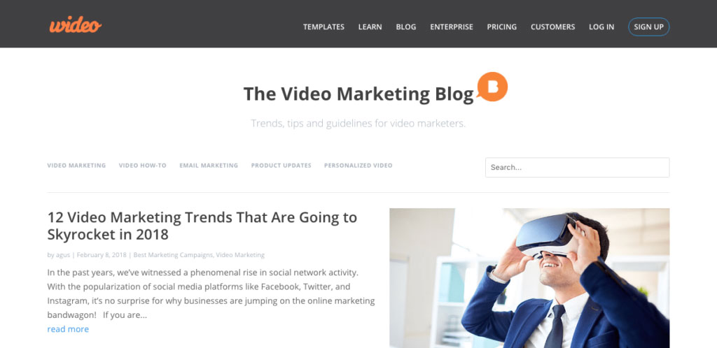Wideo-The Video Marketing Blog