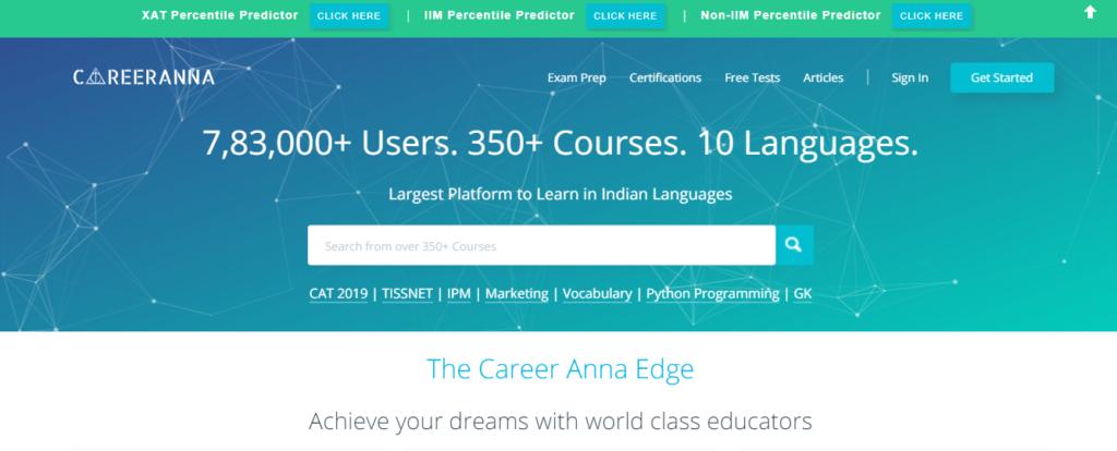 Career Anna - UI/UX Design