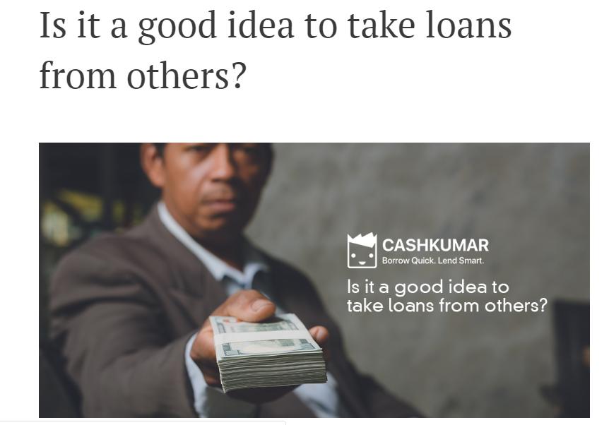 Cashkumar - Blog Page