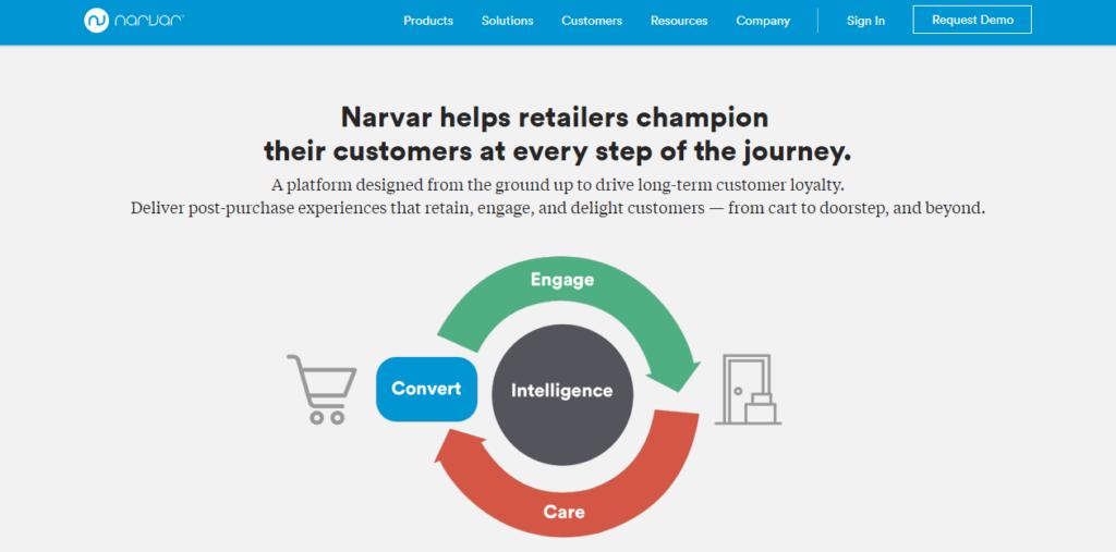 Narvar - UI/UX Design