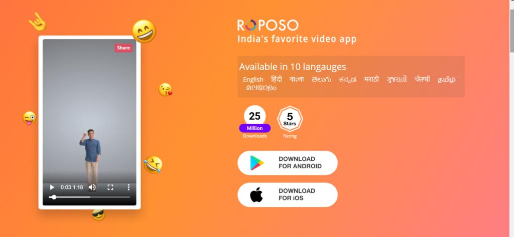 Roposo - UI/UX Design