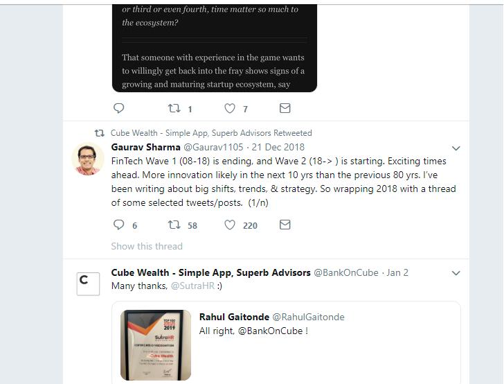 Cube Wealth - best twitter accounts