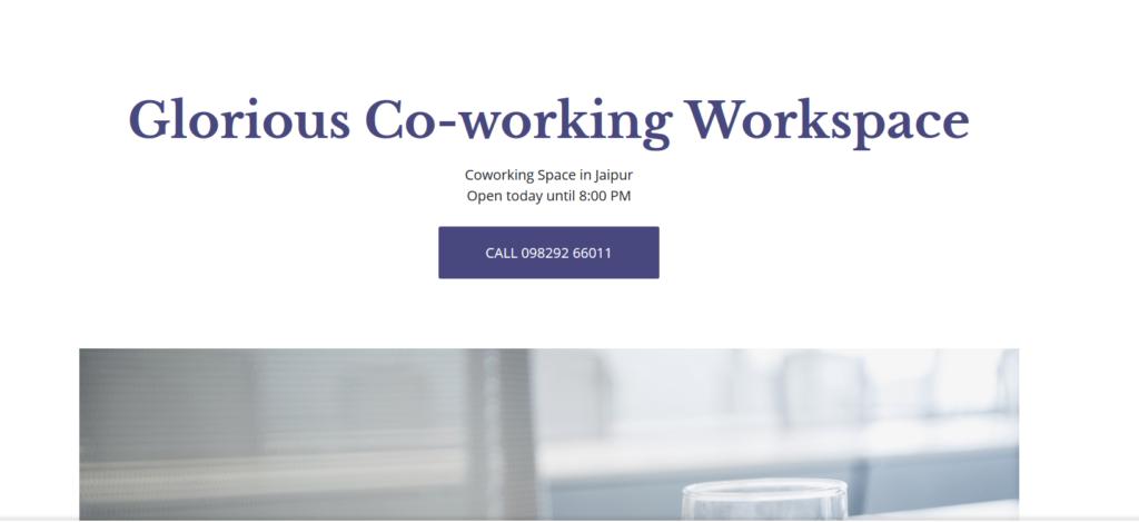 Glorious Coworking - coworking space in jaipur