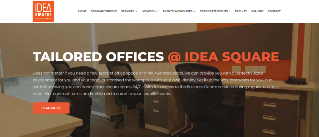 Idea Square Business Centre - coworking office space in mumbai