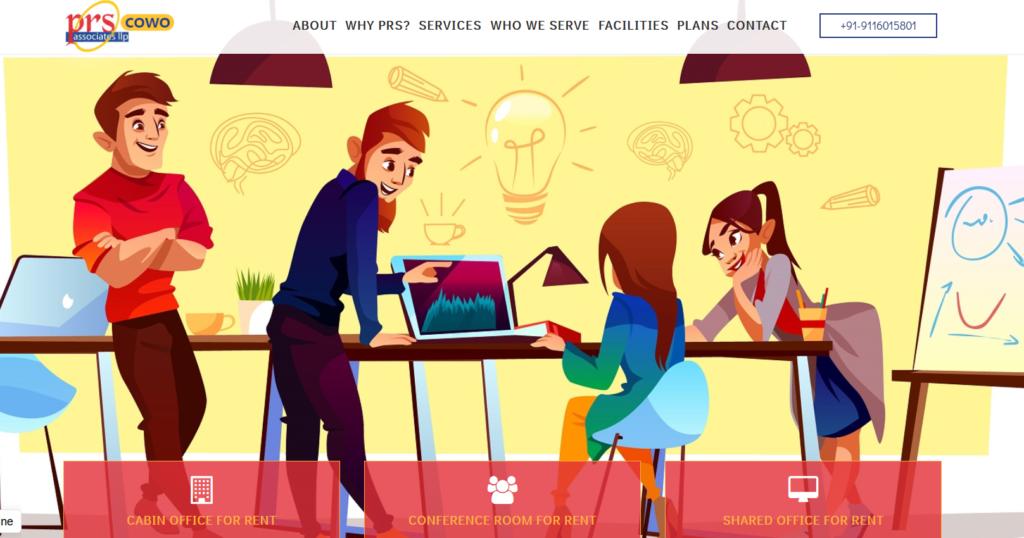 PRS Associate - coworking space in jaipur
