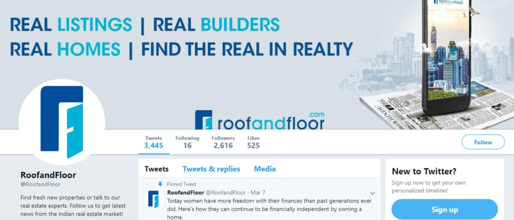 RoofandFloor - best twitter accounts