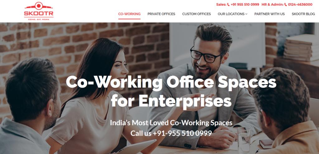 Skootr - coworking space in jaipur