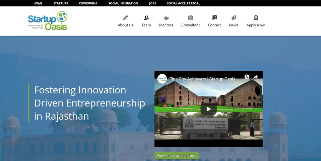 Startup Oasis - coworking space in jaipur