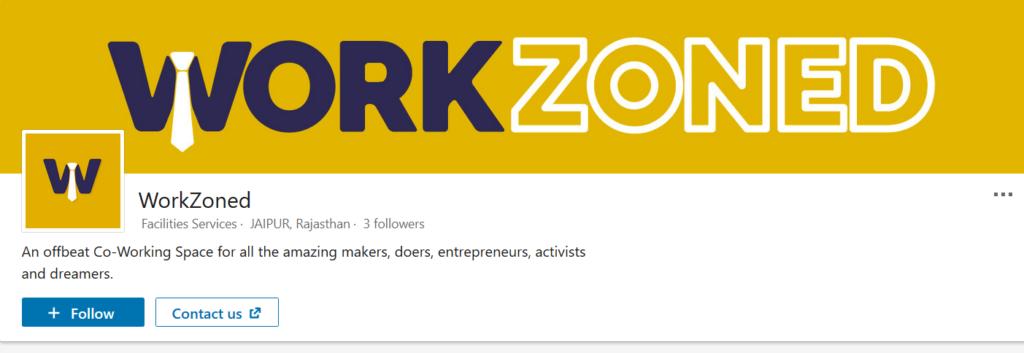 Work Zoned - coworking space in jaipur