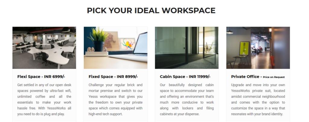 Yesss work - coworking space in andheri east