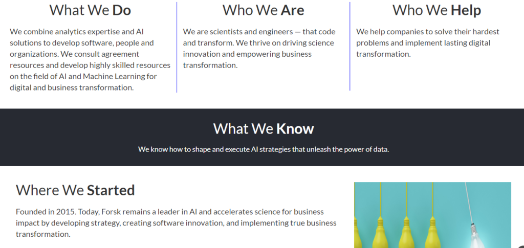 Forsk - EdTech Startups