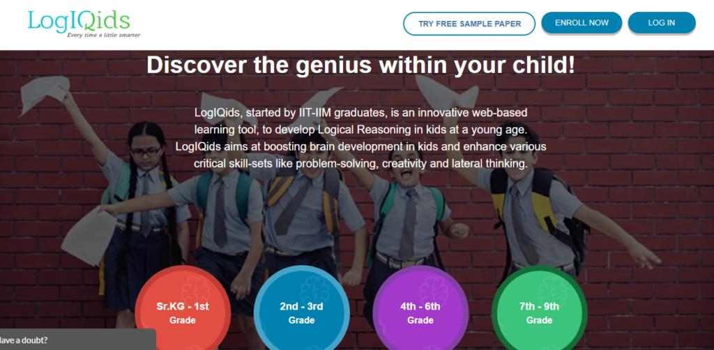 Logiqids - EdTech Startups