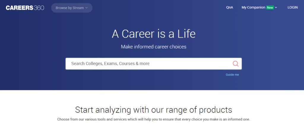 careers360 - EdTech Startups