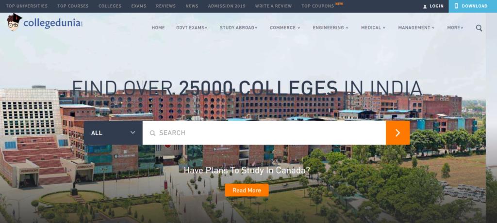 collegedunia - EdTech Startups