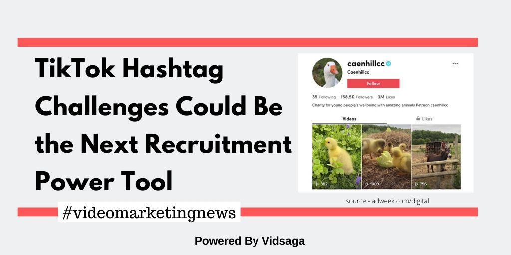 TikTok Hashtag Challenges Could Be the Next Recruitment Power Tool