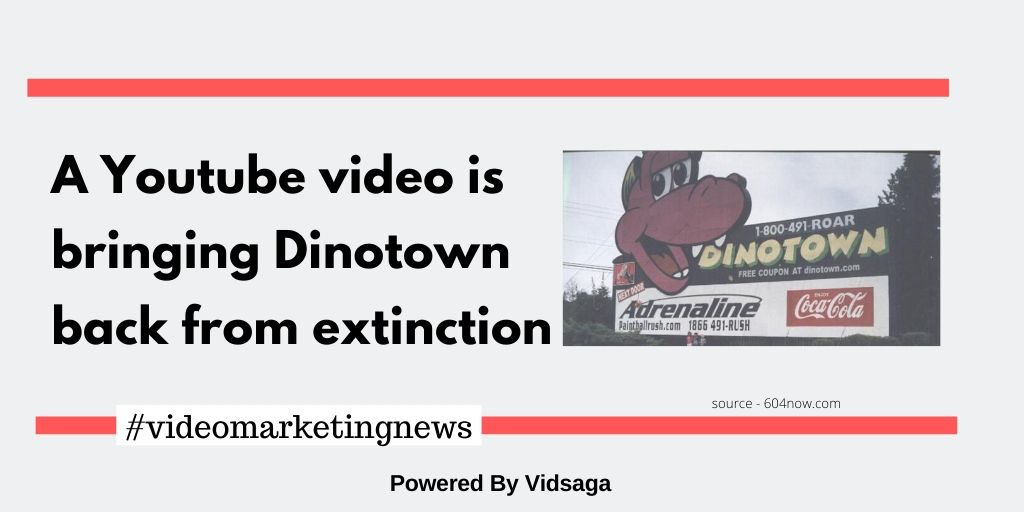 A Youtube video is bringing Dinotown back from extinction