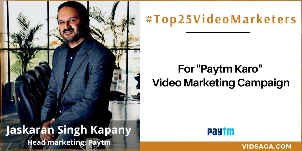 Jaskaran Singh Kapany - video marketing disruptor