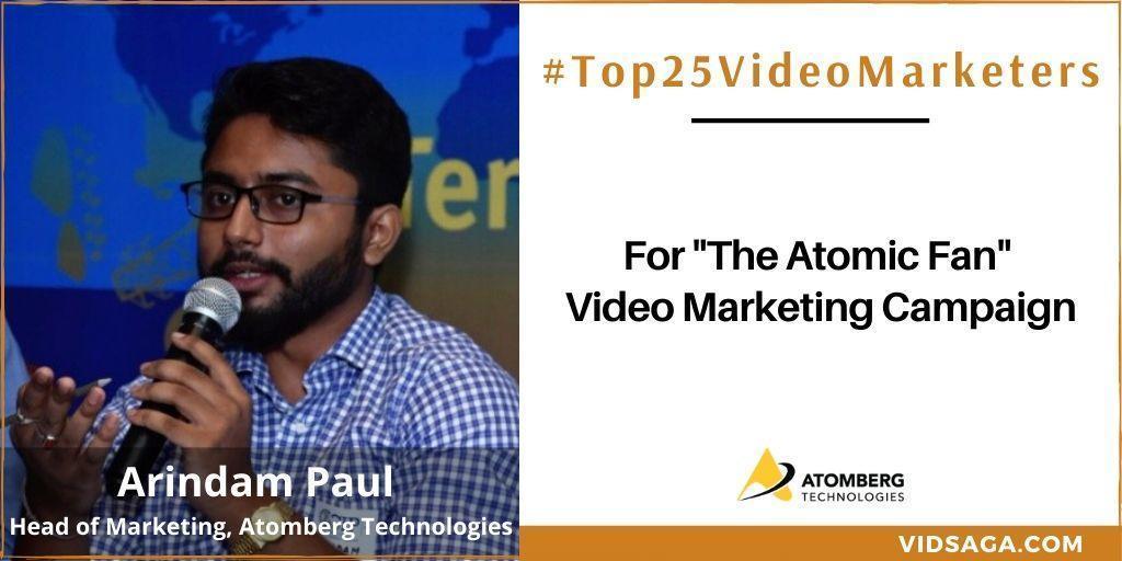 Arindam Paul - video marketing disruptor