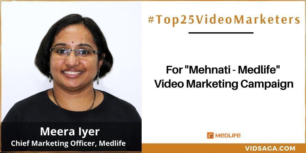 Meera Iyer - video marketing disruptor