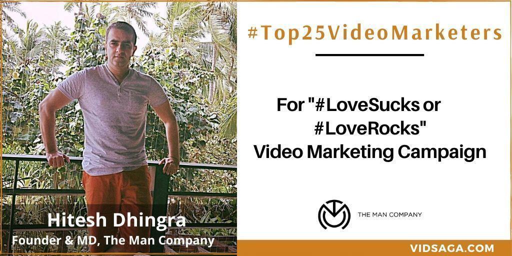 Hitesh Dhingra - video marketing disruptor