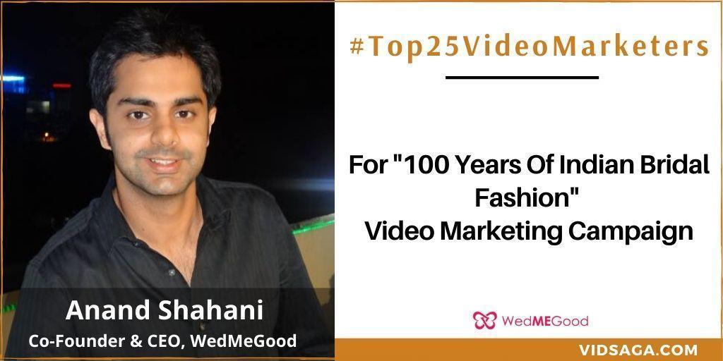 Anand Shahani - video marketing disruptor