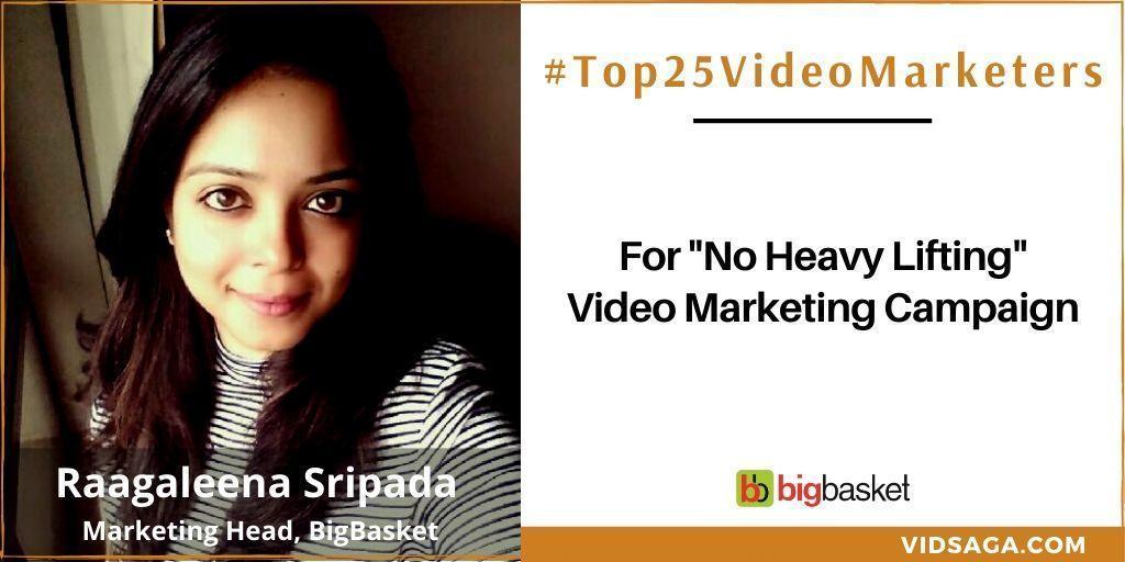 Raagaleena Sripada - video marketing disruptor