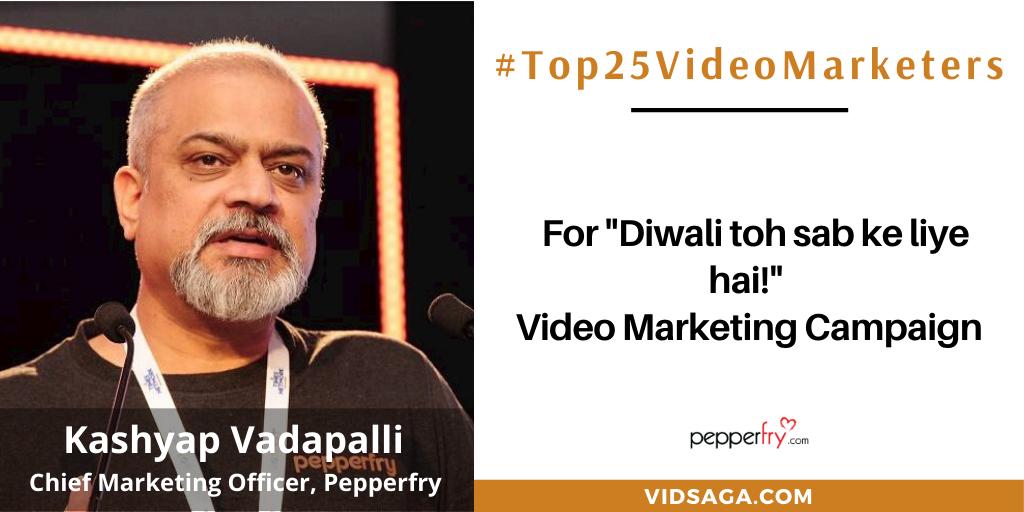 Kashyap Vadapalli - video marketing disruptor
