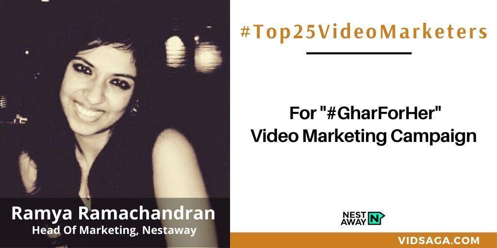 Ramya Ramachandran - video marketing disruptor