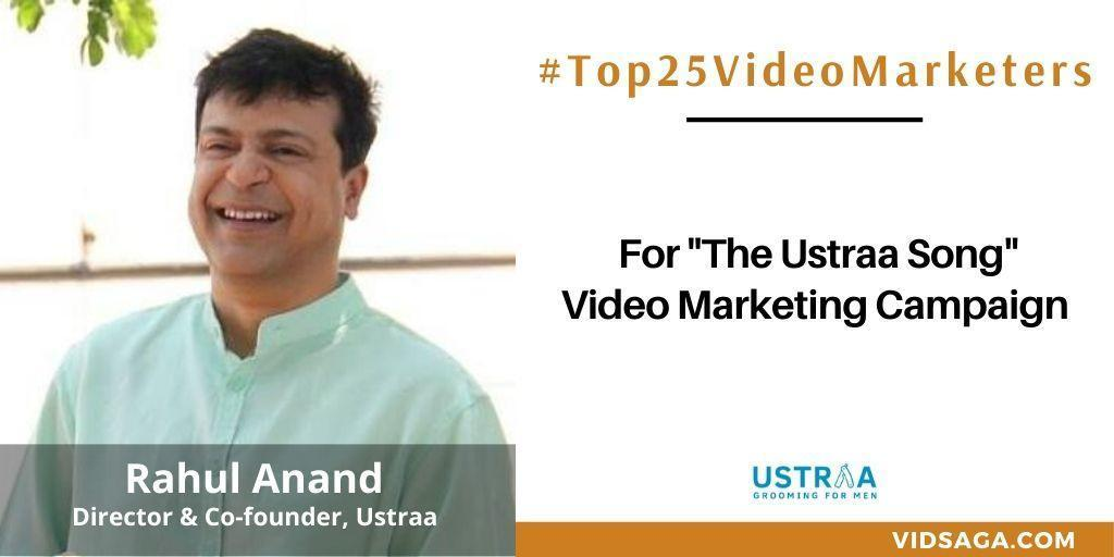 Rahul Anand - video marketing disruptor