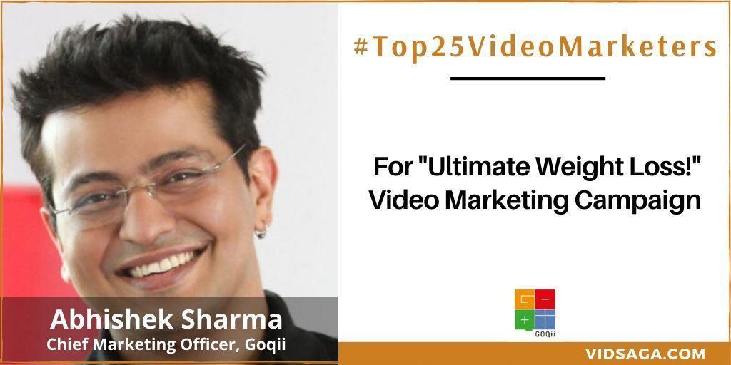 Abhishek Sharma - video marketing disruptor