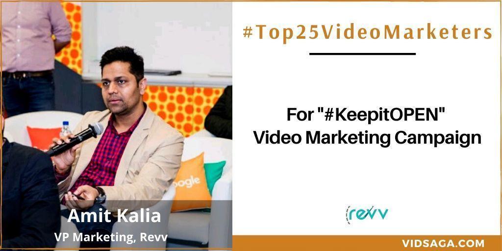 Amit Kalia - video marketing disruptor