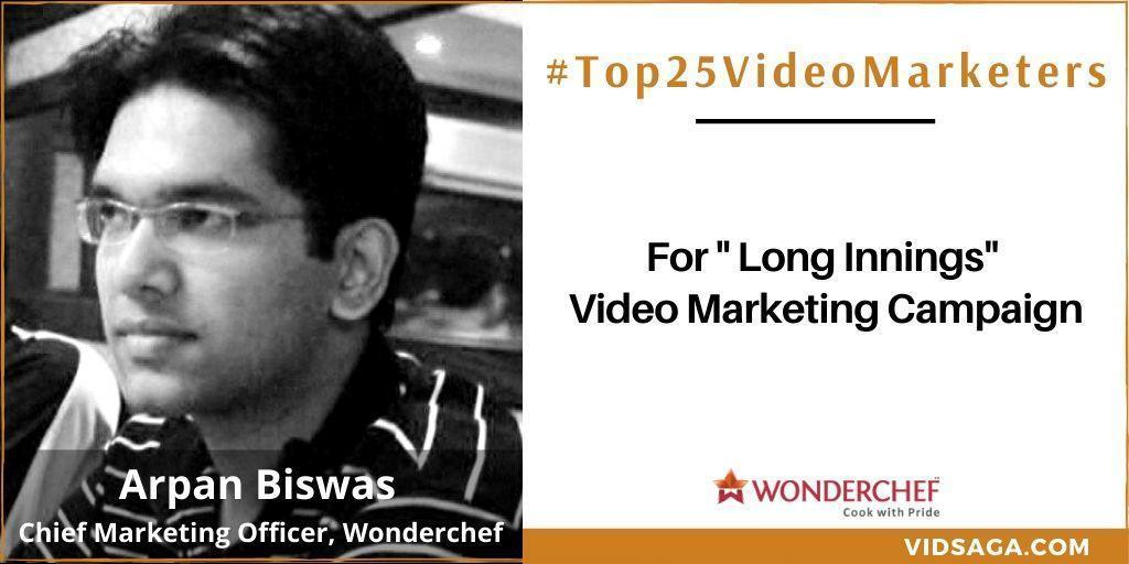 Apan Biswas - video marketing disruptor