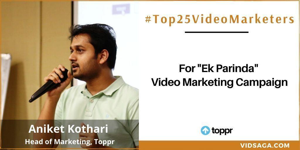 Aniket Kothari - video marketing disruptor