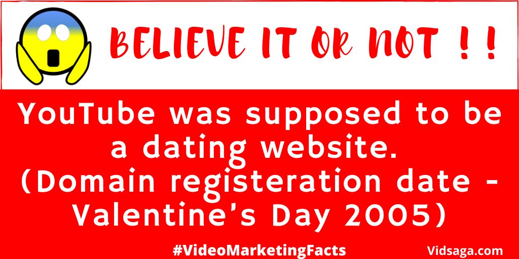 youtube dating website - valentines day 2005