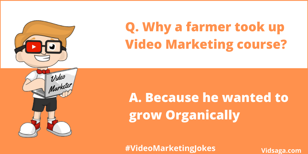farmer - video marketing course - grow organically