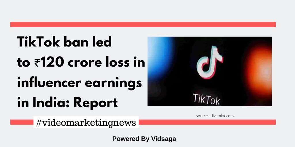 TikTok ban led to ₹120 crore loss in influencer earnings in India: Report