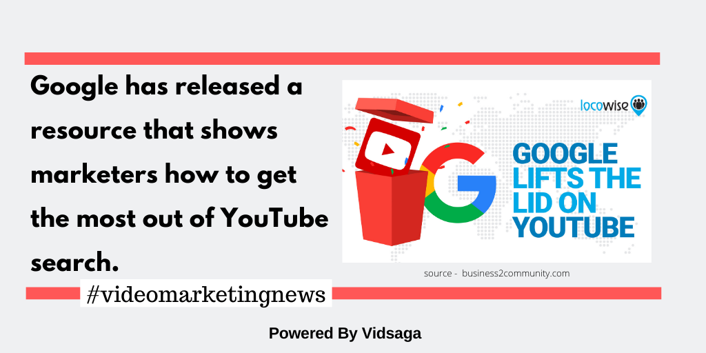 Google has released a resource that shows marketers how to get the most out of YouTube search.