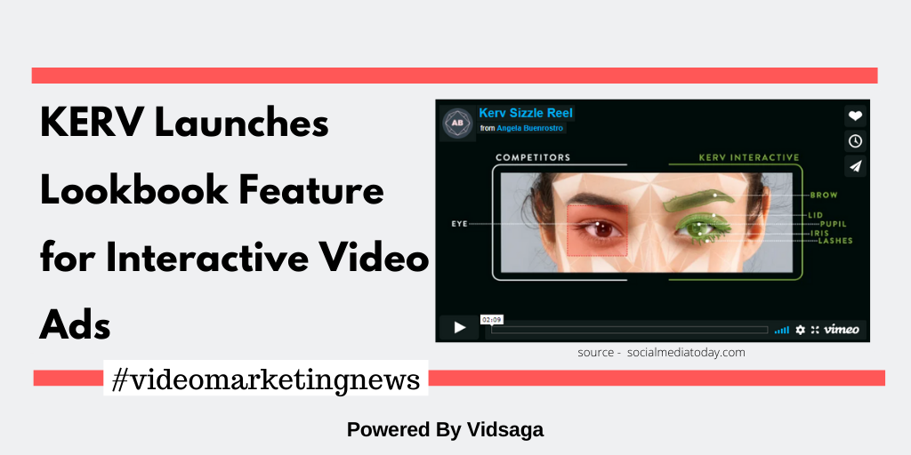 KERV Launches Lookbook Feature for Interactive Video Ads