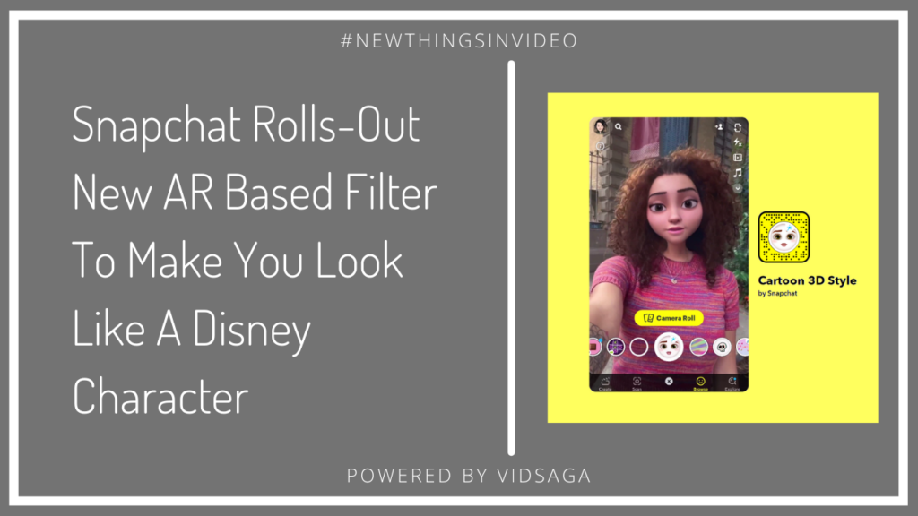 snapchat rolls-out new AR based filter