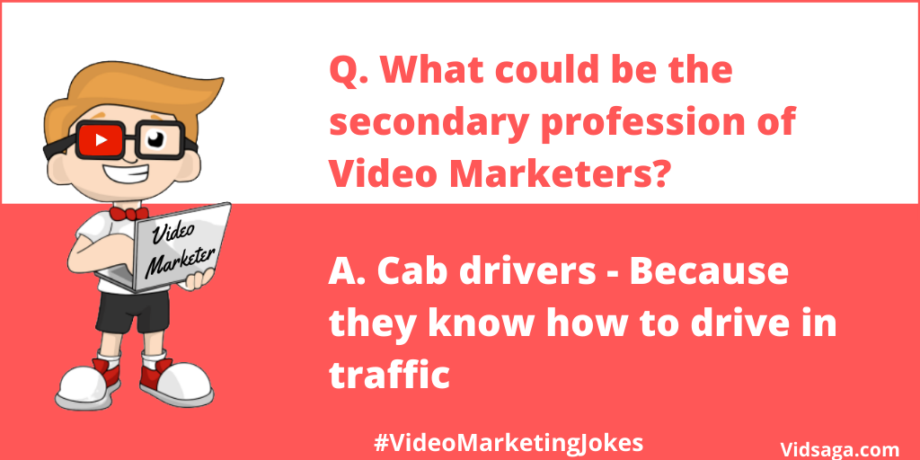 video marketer - secondary profession - cab drivers